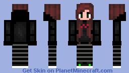 ~ Ƹ̵̡Ӝ̵̨̄ƷηυηкιєƸ̵̡Ӝ̵̨̄Ʒ ~ Me  〜( ̄▽ ̄〜) Minecraft Skin
