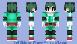Midoriya 👊👊 Minecraft Skin