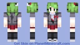 That's super-duper despair-inducing! Minecraft Skin
