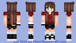 Tumblr Inspired Girl (First Skin) Minecraft Skin