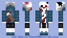 HorrorTale Sans Minecraft Skin