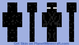 Mc enderman Minecraft Skin