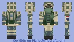Kapkan [Rainbow Six Siege] Minecraft Skin