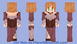 Request - Maroon Dress Minecraft Skin
