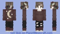 moon child Minecraft Skin