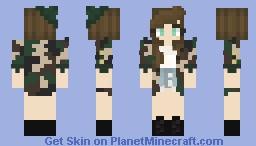 ➸''militaire'' Minecraft Skin