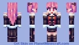 Krul Tepes (Owari no Seraph) Minecraft Skin