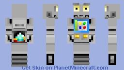 Coal-bot Minecraft Skin