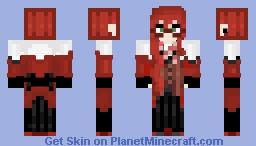 Grell Sutcliff ~ Palahniuk Minecraft Skin