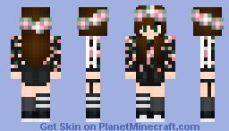 Floral- Asunaa Minecraft Skin