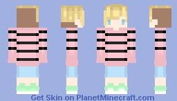 ~ Irl me ~-~ ϟ℘øẘẕ (Personal) Minecraft Skin