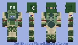 Tachanka [Rainbow Six Siege] Minecraft Skin