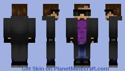 Bad-ass (WhiskeyKM) [Removable jacket] Minecraft Skin