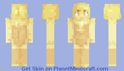Yellow Diamond's Pearl Minecraft Skin