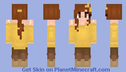 Modern Belle - Princess Minecraft Skin