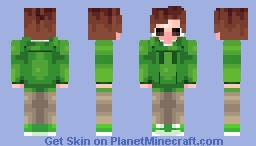 Edd (Eddsworld) Minecraft Skin