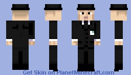 ♠Men In Black (The Real)♠ Minecraft Skin