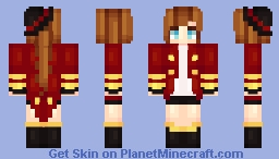 the ringleader Minecraft Skin