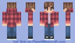 Canadian Teen - Red flannel idek Minecraft Skin