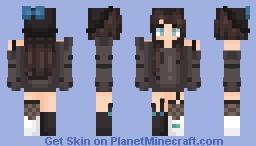 Oh hey I'm back kind of Minecraft Skin