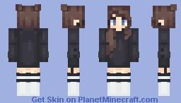 Emo chick idk Minecraft Skin