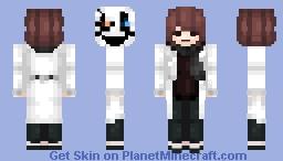 Undertale: Gaster Frisk ☝☼☜☜❄✋☠☝💧 Minecraft Skin