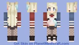 ♠𝓹𝓪𝔂𝓪𝔁𝓱𝓪𝓵♠ ~ Harley Quinn Minecraft Skin