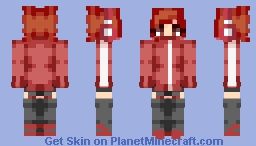 oc- Teku Minecraft Skin
