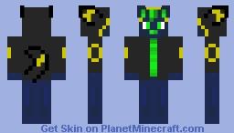 Enki Wuff (Wolf) (Umbreon Version) Minecraft Skin
