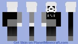 Sans BONETALE MY OWN AU Minecraft Skin