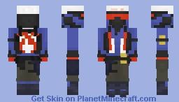 Soldier: 76 - Overwatch Minecraft Skin