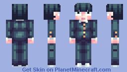 Shigeo Kageyama 【Mob Psycho 100】 Minecraft Skin
