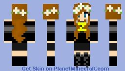 Mysister as Mithzan Minecraft Skin