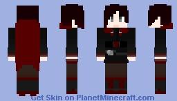 RWBY - Ruby Rose (V2.0) Minecraft Skin