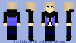 Sapphire Dacron - RWBY OC ~Ὠκεαν~ Minecraft Skin