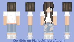 Normal Girl | ωуѕтαℓια Minecraft Skin