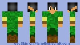 Elven Boy Minecraft Skin