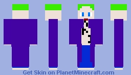 The Joker Minecraft Skin
