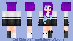 ✿ Blue Highlights ★ Minecraft Skin