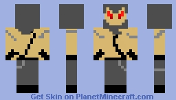 Disturbed Guy Minecraft Skin