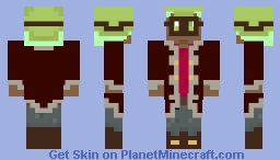 Steampunk Character Minecraft Skin