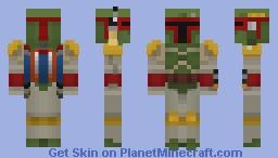 Boba Fett - StarWars Minecraft Skin