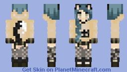 (ノಠ益ಠ)ノ彡┻━┻ Minecraft Skin