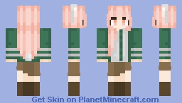 OC - Akeno Tamako Minecraft Skin