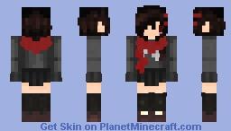 """""""ωнαт нαρρєηѕ ιƒ σηє ∂ιєѕ?""""    Ayano Tateyama (First skin!) Minecraft Skin"""