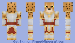 Khajiit Minecraft Skin