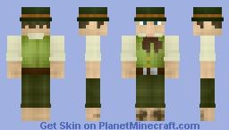 Halfling Minecraft Skin