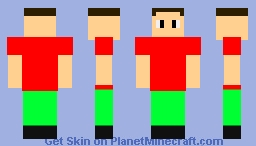 Generic Man (Take off shirt and pants for summer look) Minecraft Skin