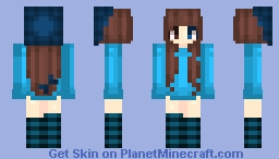 So much blue Minecraft Skin