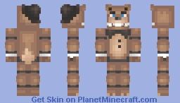 -FNAF- Freddy Fazbear  Minecraft Skin